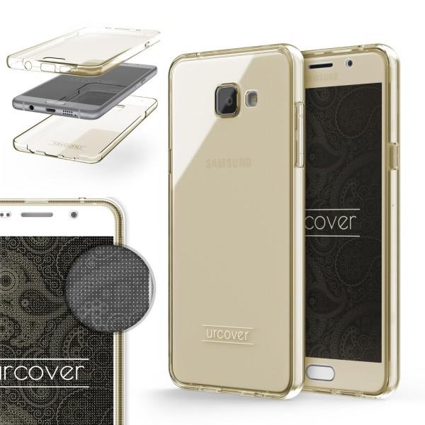 Samsung Galaxy A5 (2016) TPU Case 360 Grad Schutz Hülle Etui Cover Touch Case