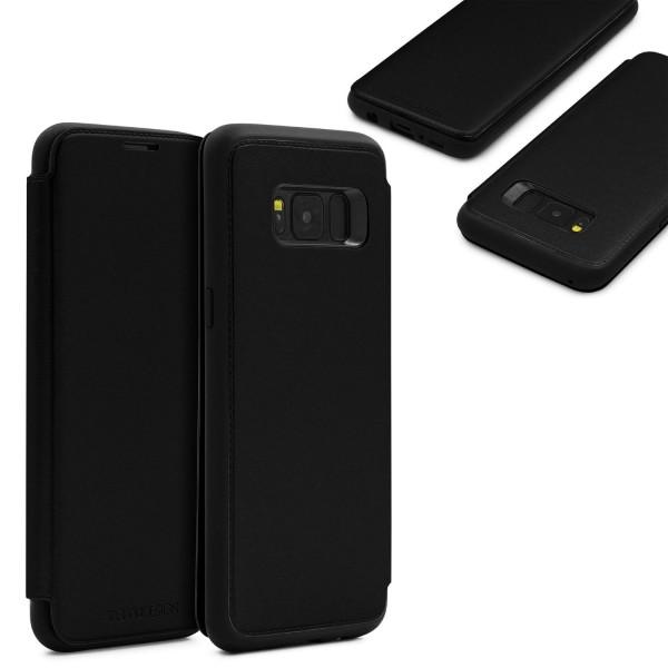 Urcover® Samsung Galaxy S8 Plus Schutzhülle Case Cover Etui Book Style Wallet