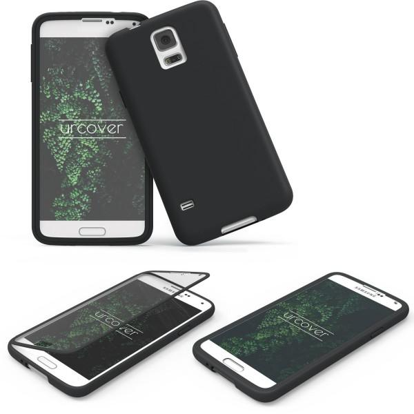 Samsung Galaxy S5 Mini Handy Tasche TOUCH CASE Display Schutz Hülle Etui Rundum