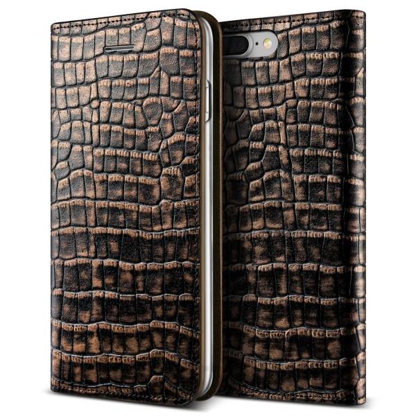 VRS Design® Apple iPhone 7 Plus Echt Leder Handy Schutzhülle Case Cover Etui