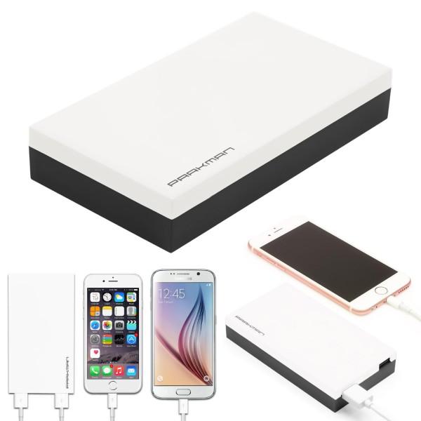 Urcover® Power Bank 15.000mAh External Battery Zusatzakku Variante Akku To Go