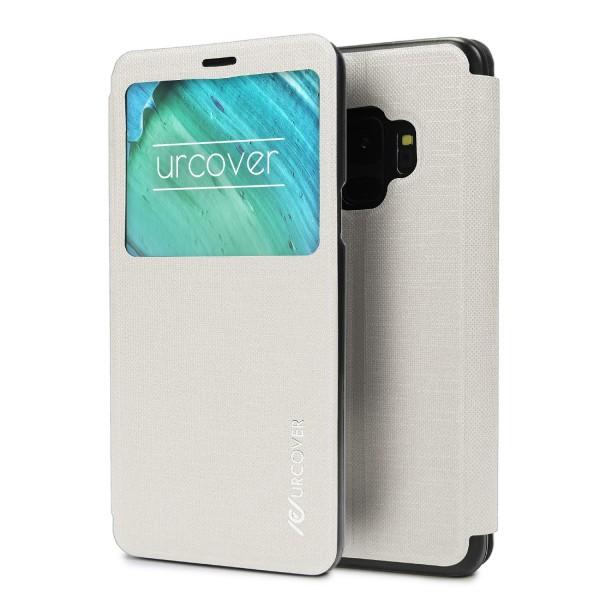 Samsung Galaxy S9 Schutz Hülle Clear View Cover Flip Case Tasche Handy Bumper