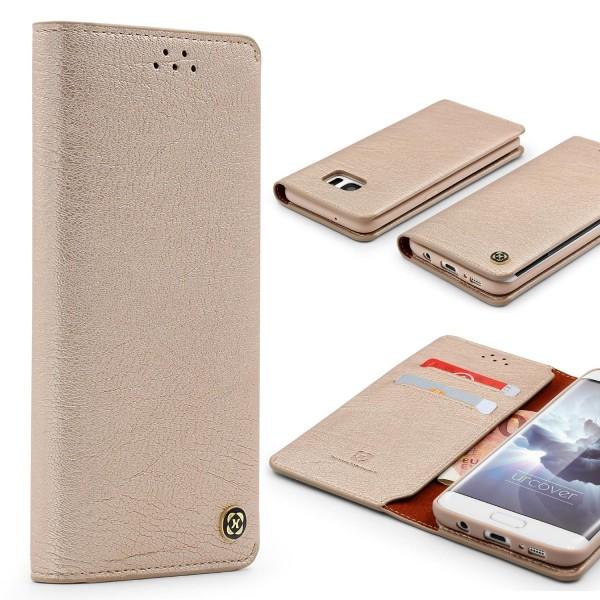 Urocver Samsung Galaxy S7 Edge Schutzhülle Kartenfach Cover Case Schale Wallet