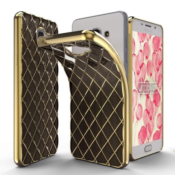 Urcover® Samsung Galaxy A5 (2016) Schutz Hülle Quilted Diamond Design Case Cover