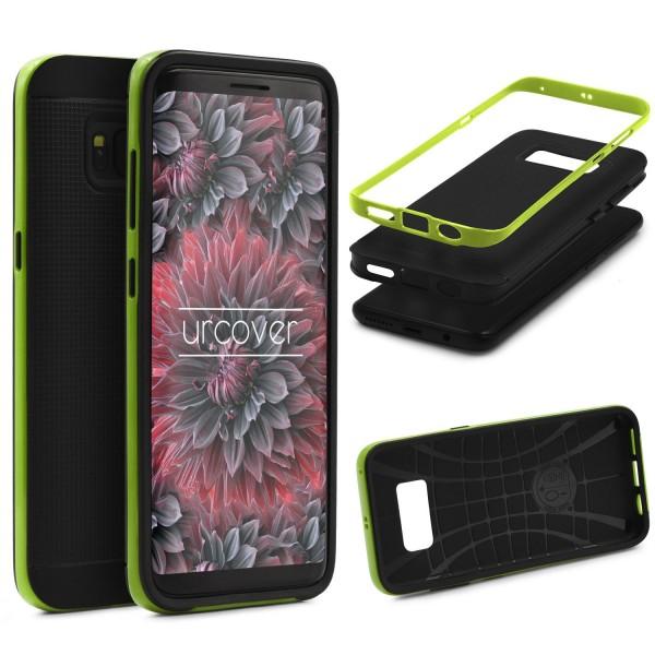 Samsung Galaxy S8 Plus Schutzhülle Carbon Style Karbon Optik TPU Case Cover Etui