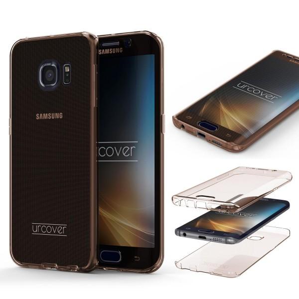Samsung Galaxy S6 Edge Plus TPU Case 360 Grad Schutz Hülle Etui Cover Case