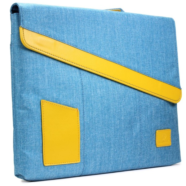 Urcover® Universal 13,3 Zoll Laptop Tasche Jeans Style Mac-Book Hülle Etui