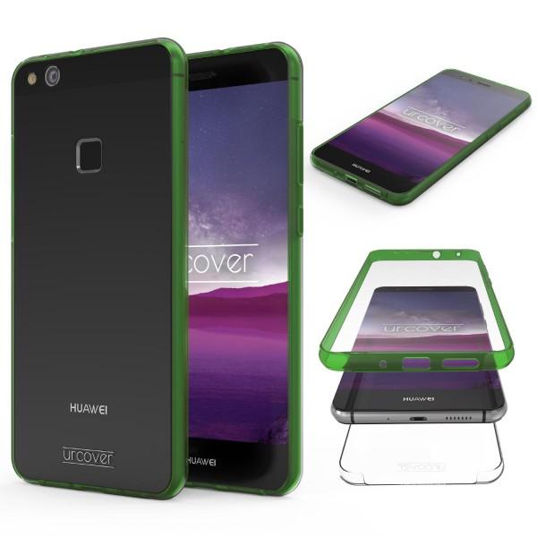 Huawei P10 Lite Touch Case 2018 Handy Schutz Hülle 360° Rundumschutz Bumper Etui