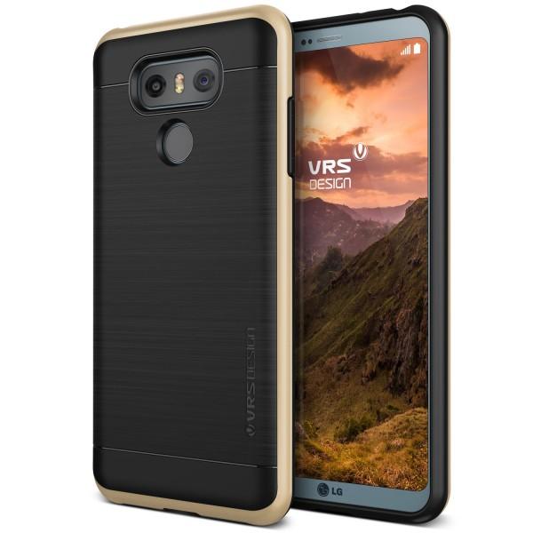 LG G6 Handy Hülle Schutz Case Cover Schale Bumper Backcase Polycarbonat