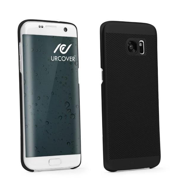 Samsung Galaxy S7 Edge Hülle Kunststoff Cover Case Schutz Schale Etui