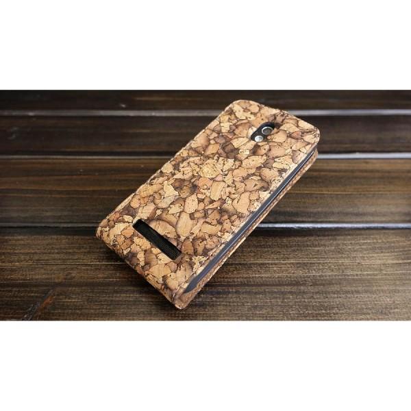 Urcover® HTC Desire 500 Flip Wallet Schutz Hülle Case Cover Etui Schale Tasche