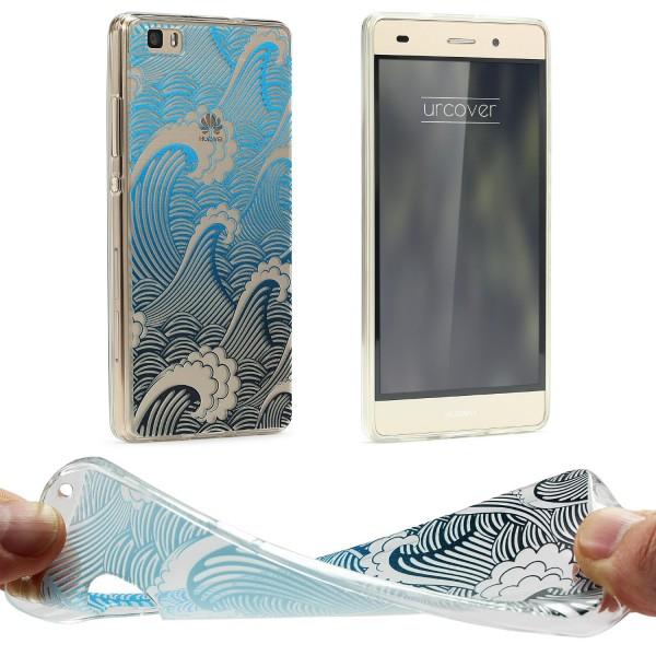 Urcover® Huawei P8 Schutz Hülle Case Cover Tasche Silikon Soft Schale Etui