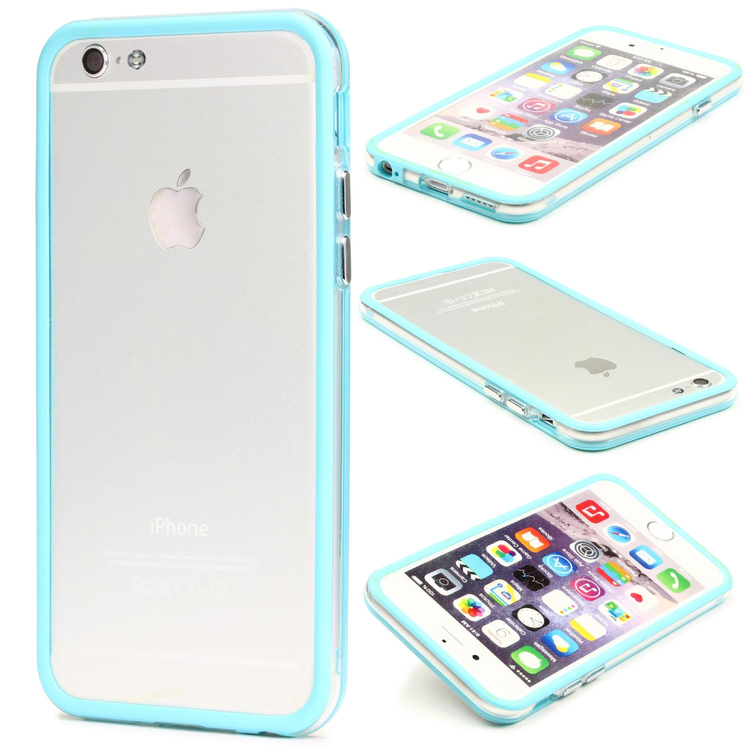 Urcover Apple iPhone 6 Plus 6s Plus Schutz Hülle Back Case Bumper Cover Etui Bumper iPhone 6 Plus 6s Plus iPhone Apple