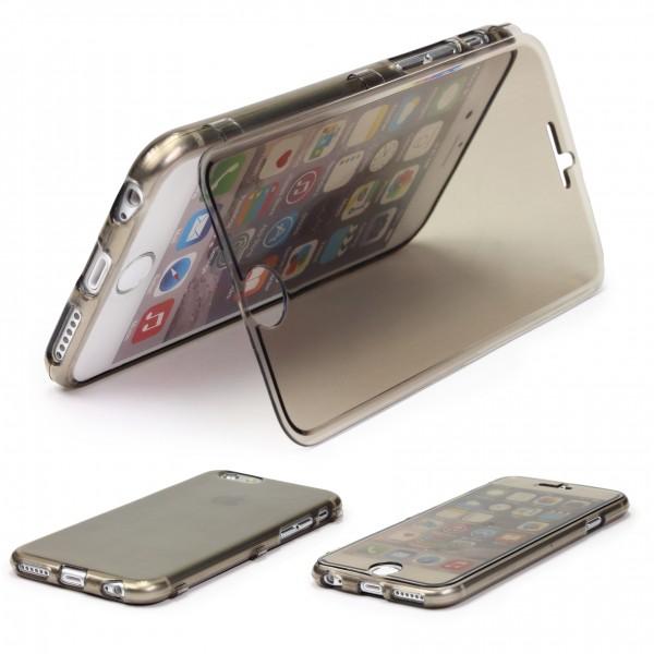 Apple iPhone 6 Plus 6s Plus Rundum Schutz Hülle 360 Grad Wallet Touch Case Cover