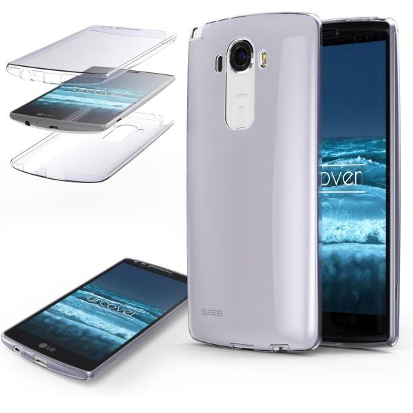 LG G3 TPU Case 360 Grad Schutz Hülle Etui Cover Touch Case