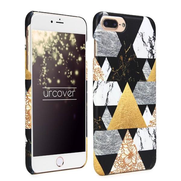 Urcover® Apple iPhone 7 Plus Geometric Hard Cover Case Muster Abstrakt Schutz