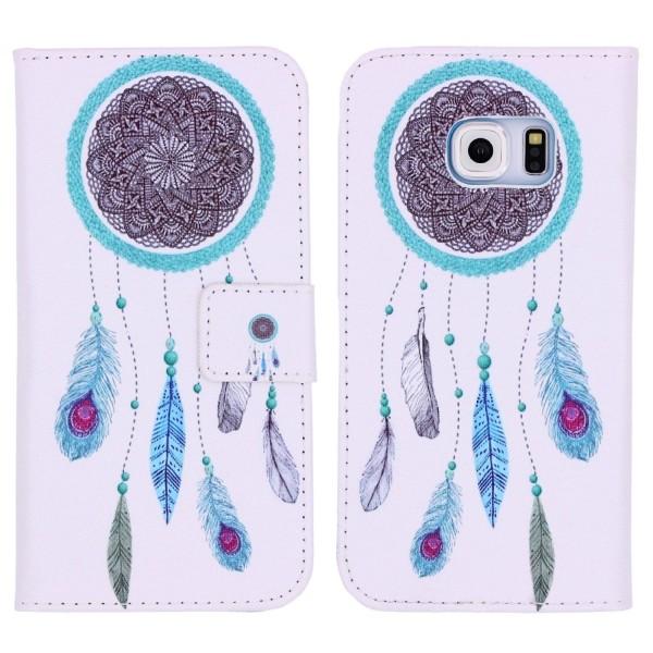 Samsung Galaxy S6 Handy Schutz Hülle Cover Case Wallet Klapphülle Etui Schale