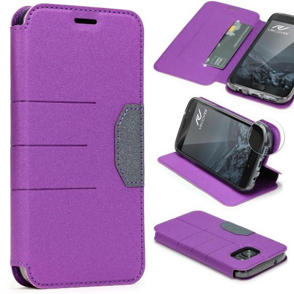 Samsung Galaxy S7 Handy Schutz Hülle Standfunktion Kartenfach Case Cover Etui