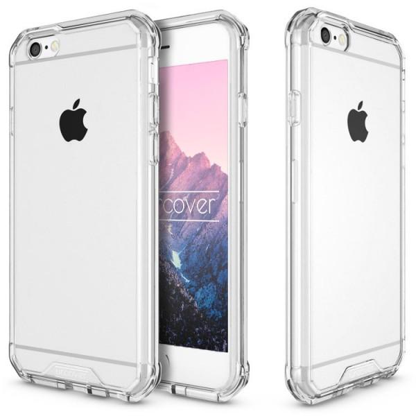Apple iPhone 6 Plus / 6s Plus Schutz Hülle ULTRA SLIM Case Cover klar TPU Schale