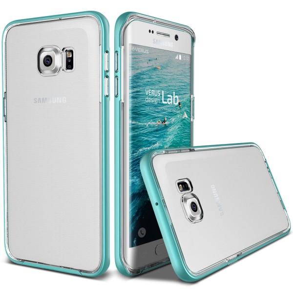 Samsung Galaxy S6 Edge Plus Handy Schutz Hülle Case Crystal Bumper Schale Cover