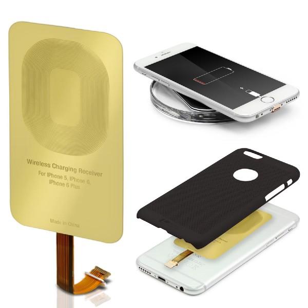 Lightning Universal Kabelloser Qi Lade Empfänger Wireless Qi-Charging Receiver