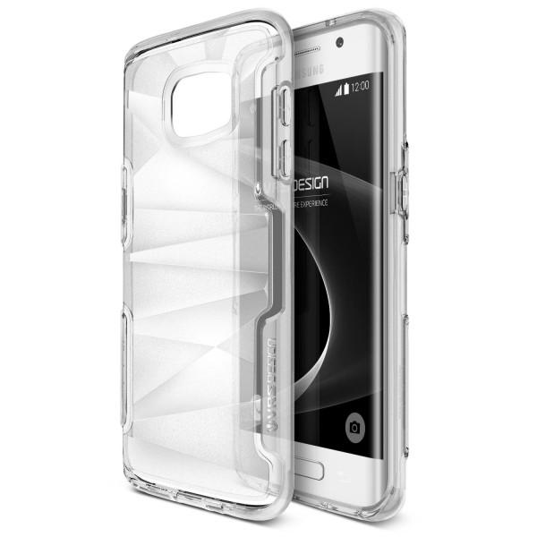 Urcover® Samsung Galaxy S7 Edge TPU Back Case Schutz Hülle klare Rückseite Etui