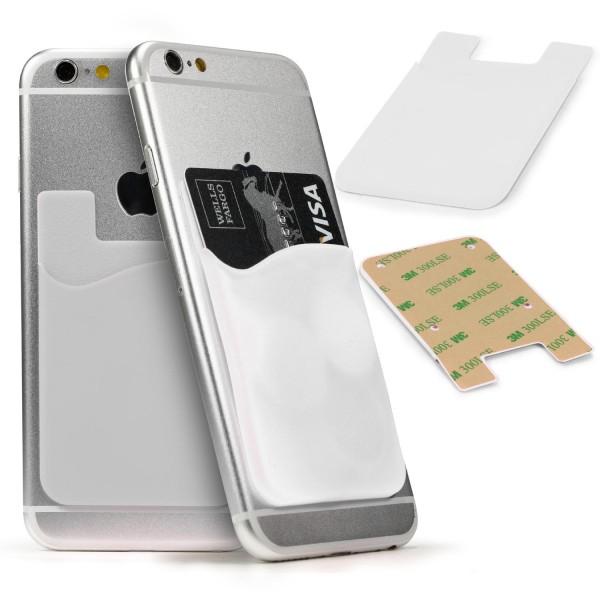 Urcover® Universal Handy Kartenfach Aufkleber Card Slot Sticker Klebe-Fach