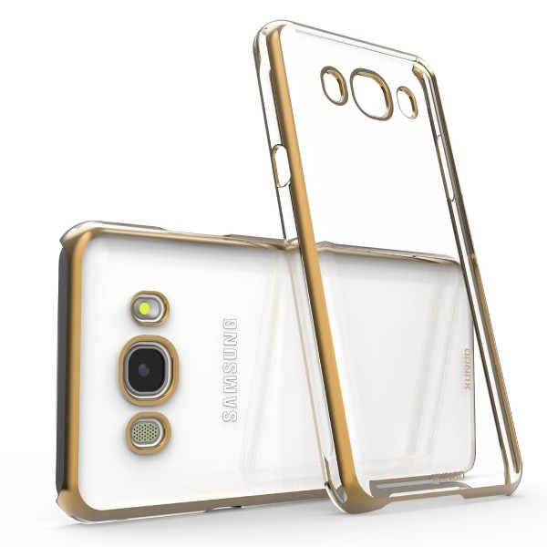 Urcover® Samsung Galaxy J7 (2016) Kunststoff Soft Back Case Cover Klar Bumper
