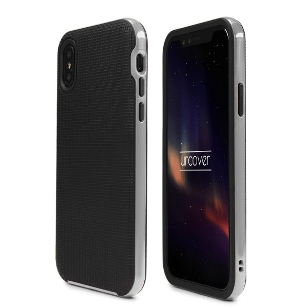 Urcover® Apple iPhone X Case Slim Dual Layer Handy Schutz Hülle Case Cover Hybrid Tasche Schale