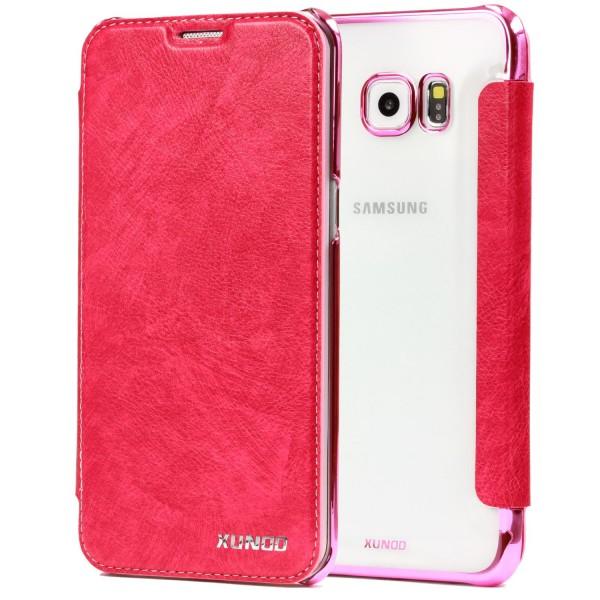 Samsung Galaxy S6 Edge Plus Schutzhülle Wallet Klapp Cover Flip Case Tasche Etui
