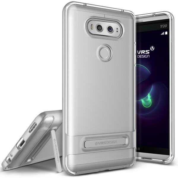 LG V20 Handy Schutz Hülle Case Crystal Bumper Slim Schale Cover Kameraschutz