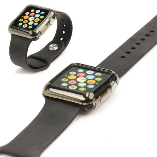 Urcover® Apple Watch 38mm Schutzhülle Silikon TPU Smart Watch Case Cover Silikon