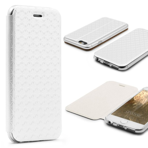 Apple iPhone 6 / 6s Klapp Schutz Hülle Sichtfenster Kartenfach Standfunktion