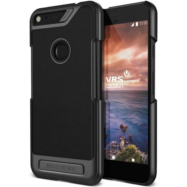 Urcover® Google Pixel XL Leder Optik Schutz Cover Case Hülle Slim Case Etui