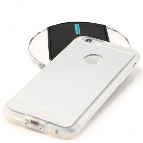 Apple iPhone 6 Plus / 6s Plus Qi Hülle iPhone Ladegerät Empfänger kabellos Case
