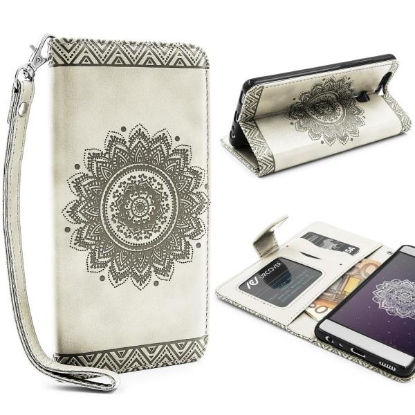 Huawei P9 Wallet Klapp Schutz Hülle Stand Flip Case Cover Etui Schale Tasche