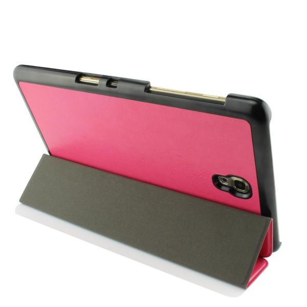 Urcover® Samsung Galaxy Tab 8.4 Smart Cover Case in Pink [ mit Standfunktion & Sleep Wake ] Schutzhülle Etui Schale Samsung Galaxy Tab 8.4