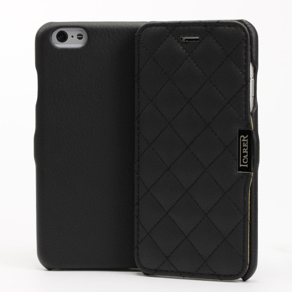 iCarer® Apple iPhone 6 / 6s Schutz Klapp Hülle Flip Case Cover Etui Schale Wallet