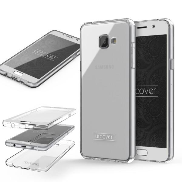 Urcover Samsung Galaxy A7 (2016) Touch Case 3.0 Soft Edition berühmt durch Galileo Rundum 360° Crystal Clear Schutzhülle ohne Punktmatrix