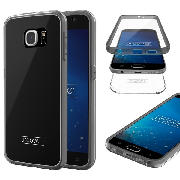 Urcover Samsung Galaxy S6 Touch Case 2.0 Hard Edition berühmt durch Galileo Rundum 360° Crystal Clear Schutzhülle