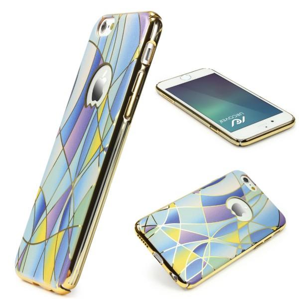 Urcover® Handy Schutz Hülle iPhone 6 Plus / 6s Plus Hard Back Case Cover Tasche
