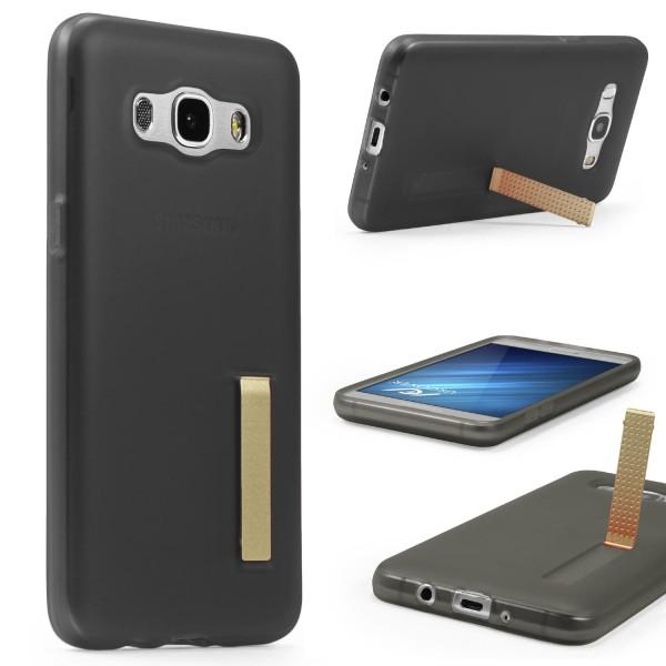 Urcover® Samsung Galaxy J7 (2016) Schutz Hülle mit Standfunktion Soft Case Cover