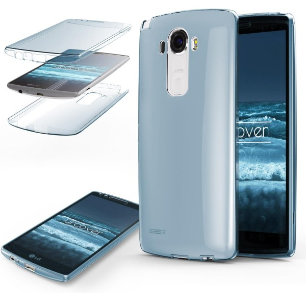 LG G4 TPU Case 360° Grad rundum Schutz Hülle Etui Cover Touch Case Full Body