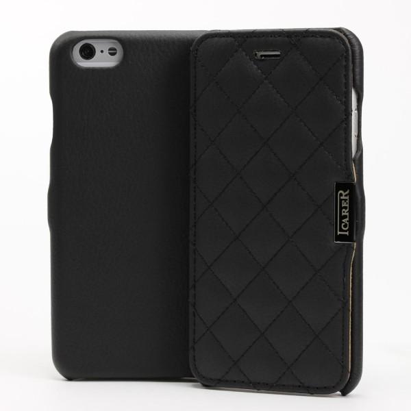iCarer® Apple iPhone 6 Plus / 6s Plus Schutz Klapp Hülle Flip Case Cover Etui Wallet