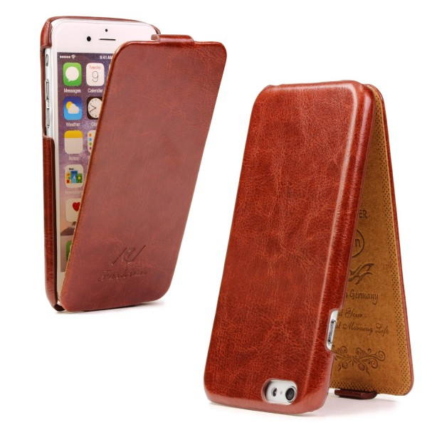 Apple iPhone 6 Plus / 6s Plus Tasche Case Cover Schutz Hülle Wallet Kunst-Leder