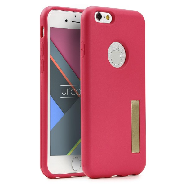 Urcover® Apple iPhone 6 / 6s Schutz Hülle mit Standfunktion Soft Case Cover