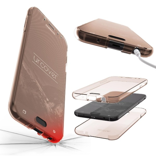 Samsung Galaxy J5 (2017 Europa) 360 Grad Rundum Schutz Hülle Case TPU Etui Cover