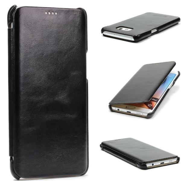 Urcover® Samsung Galaxy S6 Edge Plus Kunstleder Schutz Wallet Flip Hülle Cover