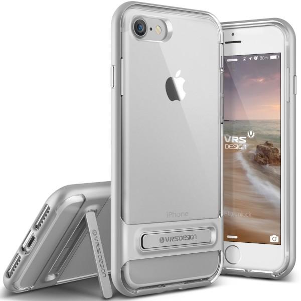 Apple iPhone 7 Handy Schutz Hülle Case Crystal Bumper Slim Schale Cover