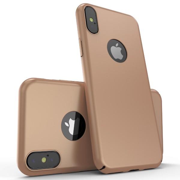 Original Urcover Ultra Slim Hard Back Case Apple iPhone X Cover dünn Hülle Etui